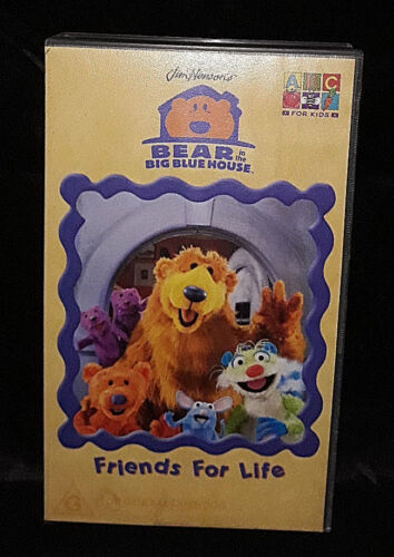 Bear In The Big Blue House: Friends For Life - Video Cassette VHS