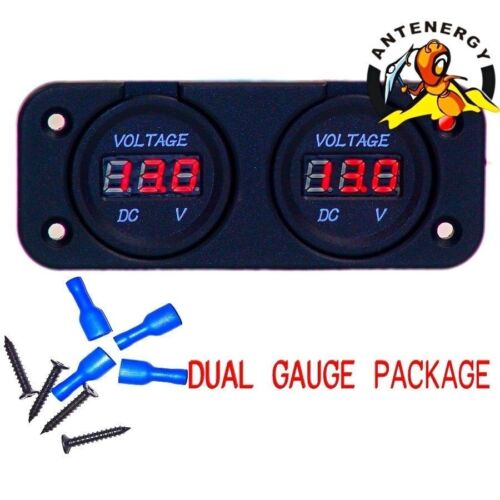 dual battery volt meter | Got Free Shipping? (AU)