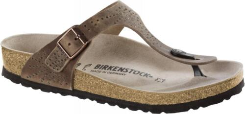 Birkenstock CRAFTED RIVETS II Leather GIZEH Tobacco Tabacco BNIB 1009760
