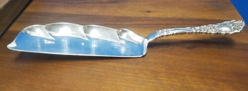 Dominick & Haff sterling RENAISSANCE Large Flat Handle Crumb knife