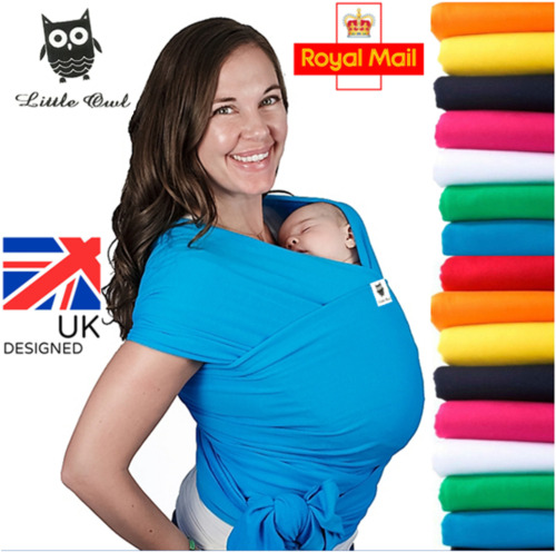 BABY SLING STRETCHY WRAP CARRIER, Extra light and silky soft - MANY COLOURS!!!