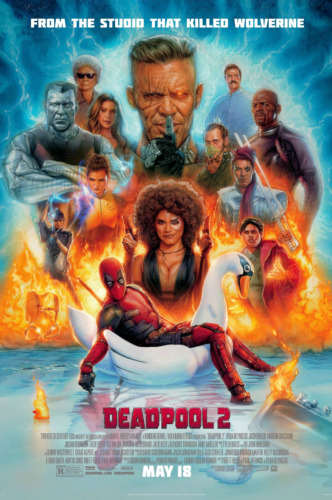 """DEADPOOL 2 ( 11"""" x 17"""" ) Movie  Collector's  Poster Print  - (T10) -  B2G1F"""