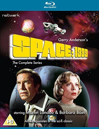 Space 1999 The Complete Series [DVD] [Blu-ray]