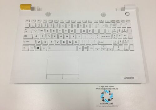 Genuine Toshiba Satellite A000389020 White Keyboard with Top Cover