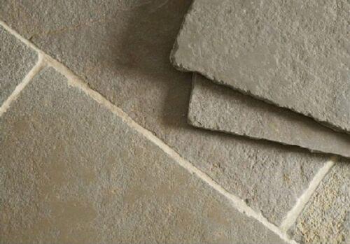 Sample of Tumbled Minster Limestone Floor Tiles & Patio Paving Slabs Flagstones <br/> THE BEST PRICE IN THE UK! PREMIUM QUALITY 100% FEEDBACK