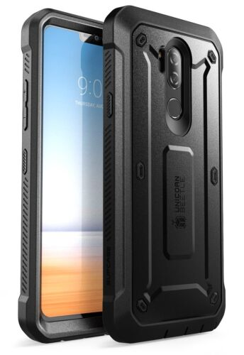 LG G7 Case SUPCASE Full-body Rugged Holster Cover with Built-in Screen Protector