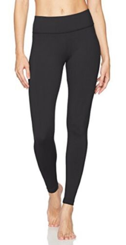 Danskin Women's Ankle Yoga Legging Rich Black