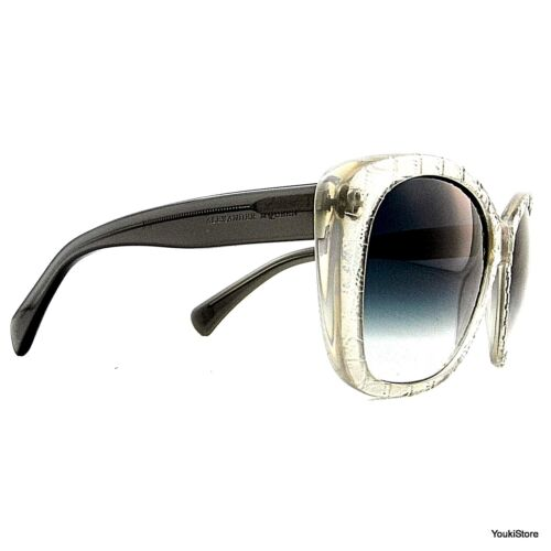 OCCHIALI DA SOLE ALEXANDER MQUEEN MADE IN ITALY CE AMQ 4193/S K6MJ SUNGASSES