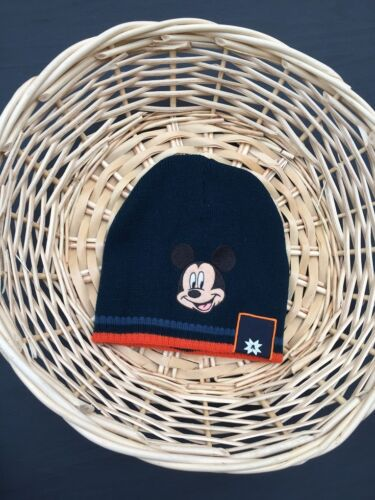 NEW Toddler Kids Baby Boys Mickey Mouse Winter Knit Cap Hat, 6-24 mos, 1-2-3-4