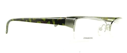ETRO occhiali vista VE 9549 col. SE5 Eyeglasses Made in Italy Stainless steel