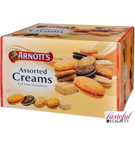 Arnotts Biscuits Assorted Cream 1.5kg