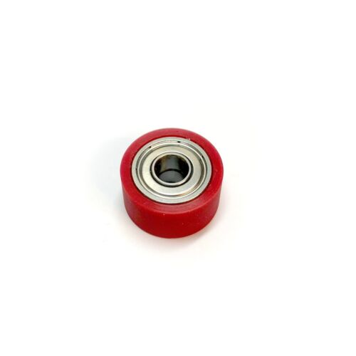 Klemt Echolette NG51 Red Rubber Roller with Low Friction Bearings