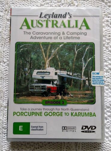 LEYLAND'S AUSTRALIA - EPISODE 3- DVD, R-ALL, NEW FREE POST IN AUSTRALIA
