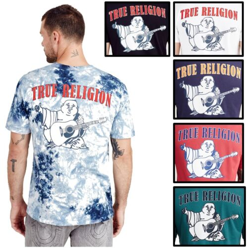 True Religion Men's Buddha Logo Tee T-Shirt <br/> EXTRA 10% OFF 2+ ANY ITEMS! 400+ TR Jean Style in Stock