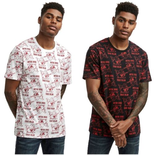 True Religion Men's Buddha Monogram Short Sleeve Crew Neck Tee T-Shirt <br/> Largest Selection of TR Clothing on eBay! 10% OFF DEAL!