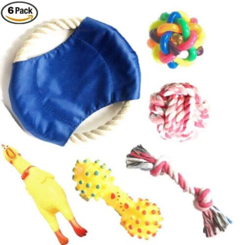 Chew and Squeaky Dog Toys for Puppy Doggie and Small Medium Dog. 6 pcs inside <br/> USA Seller. USA Fast Shipping. High Quality. Big Sale.