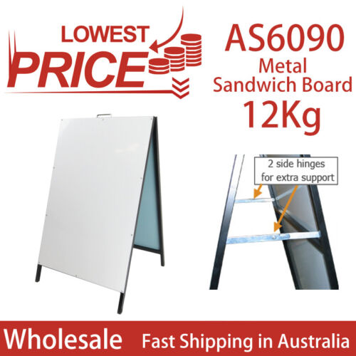 A Frame Sign/A Board /Metal Sandwich board Double Sided Road side sign AS6090
