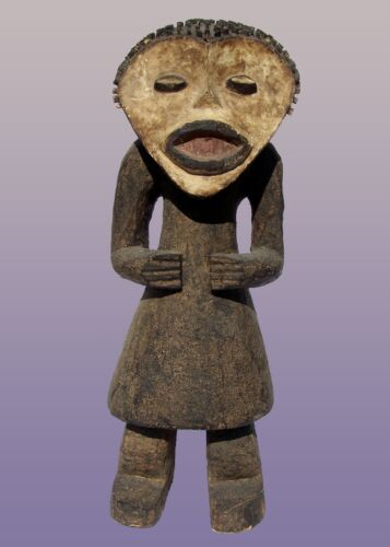 """African Mambila Figure From Cameroon 25"""" Tall"""