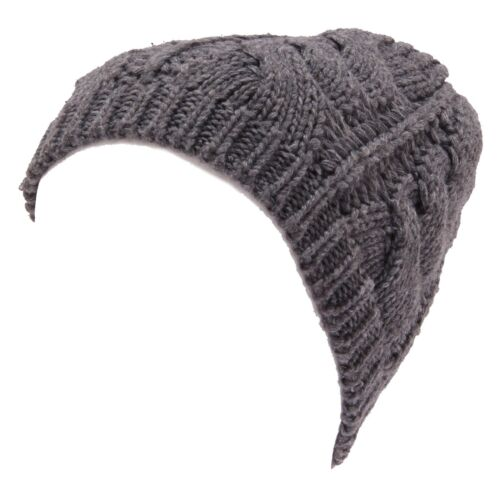8166W cappello donna MARTISSIMA BY MARTA MARZOTTO grey wool blend hat woman