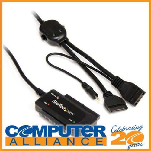 """StarTech USB 2.0 to SATA/IDE Combo Adapter for 2.5/3.5"""" SSD/HDD"""