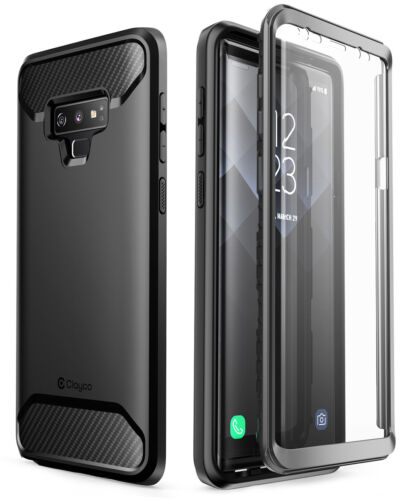 For Galaxy Note 9 Clayco Xenon Series Case Cover with 3D Curved Screen Protector