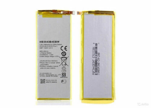 INTERNAL BATTERY ORIGIN HUAWEI ASCEND P7 HB3543B4EBW 2530mah ORIGINAL AKKU
