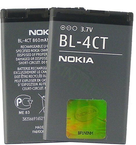 Original Nokia mobile phone Battery bl-4ct 2720 Fold 6600 fold 53