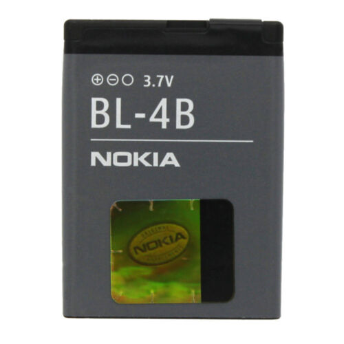Original battery BL-4B For Nokia 6111 / 6370 / 2630 / 2760 / 5000 / 7070