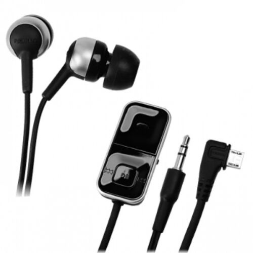 Headset Hands free Nokia AD-83 Earphones Intra HS-83 Black Headphone