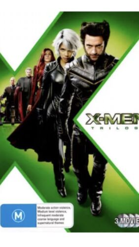 X-Men 1-3 Trilogy DVD R4   X Men, X Men 2 And X Men The Last Stand