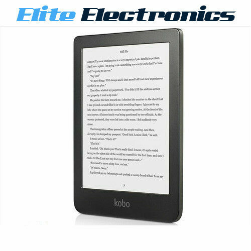 "KOBO CLARA HD 6"" EREADER EBOOK READER W/ COMFORTLIGHT PRO BLACK"