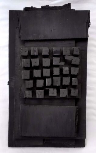 Louise Nevelson (Russo 1899-1988) Cubista in Legno Assemblage