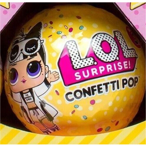 LOL SURPRISE CONFETTI POP BALL! SERIES 3, WAVE 2 *NO DUPLICATE DOLLS* BIG SISTER <br/> 100% REAL AUTHENTIC! TRUSTED USA SELLER! FAST SHIPPING!