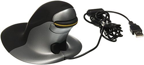 Penguin Ambidextrous Vertical Mouse Medium, Wired
