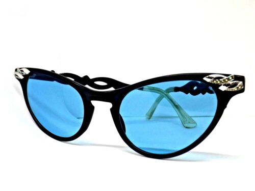 4befcf2024f255 ARTCRAFT OCCHIALI DA SOLE VINTAGE SUNGLASSES MADE IN ITALY DONNA LUNETTES  GATTO