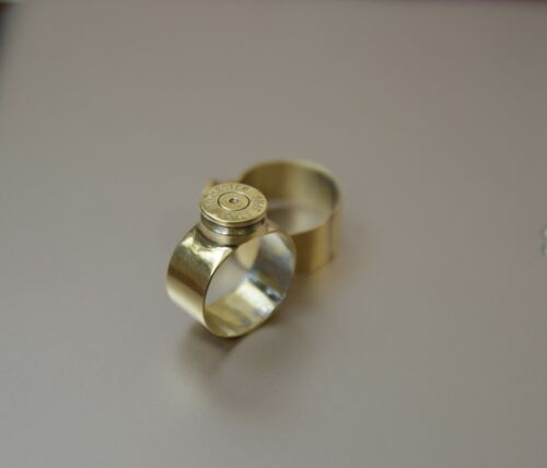 Handmade Ring .30-06 Winchester Bullet Casing Cartridge Other Militaria - 135