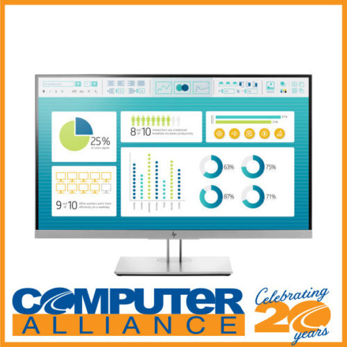 """27"""" HP E273 FHD IPS Monitor with Height Adjust PN 1FH50AA"""