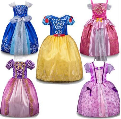 Kids Girls Princess Costume Fairytale Dress Up Snow white Rapunzel Cinderella  <br/> Fast Shipping From Sydney. Large Quantity Available