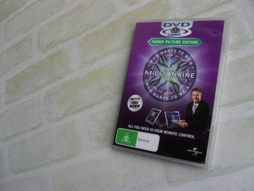 WHO WANTS TO BE A MILLIONAIRE - EDDIE McGUIRE - DVD GAME