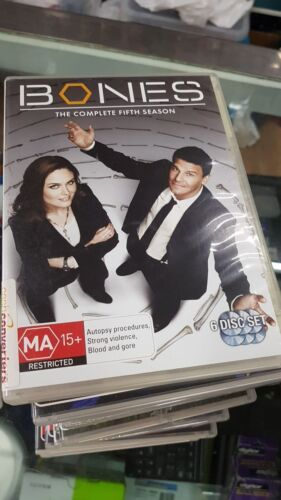 Bones : Season 5 (DVD, 2010, 6-Disc Set)