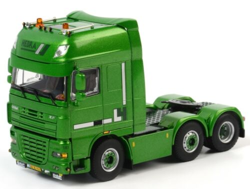 WSI01-1279 - Camion solo 4x2 DAF XF 105 SSC aux couleurs HEBRA - 1/50