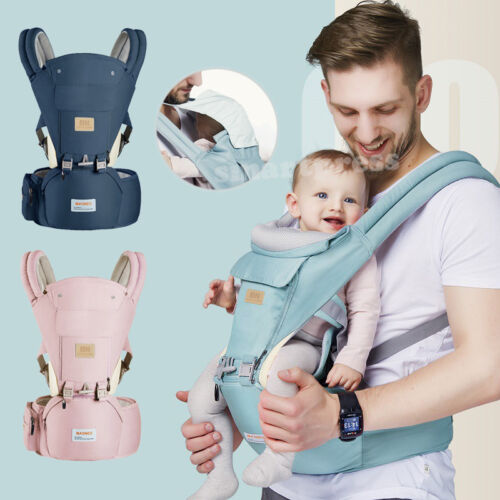Ergonomic Infant Baby Carrier With Hip Seat Stool Adjustable Wrap Sling Backpack <br/> ☆ Two Years Warranty ☆ Genuine BN Brand ☆ Sydney Stock