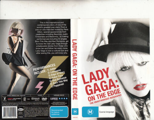 Lady Gaga-On The Edge-The Unauthorised Biography-2012-Music LG-DVD