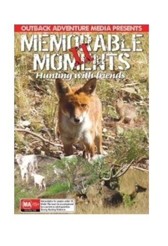 NEW Hunting DVD Memorable Moments 2 - Fox Whistling Goats Buffalo Deer Stag Elk