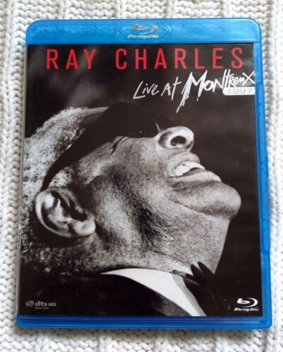RAY CHARLES LIVE AT MONTREUX 1997 – BLU-RAY- LIKE NEW-FREE POST WITHIN AUSTRALIA