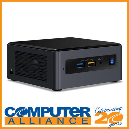 "Intel BOXNUC8I3BEH4 NUC Gen8 Core i3 M.2 & 2.5"" HDD with Wireless-AC"
