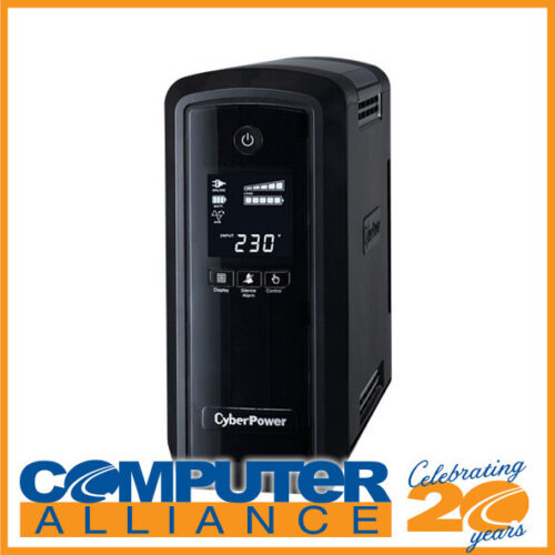 900VA CyberPower PFC Sinewave Series Tower UPS with LCD 2 Year CP900EPFCLCDa
