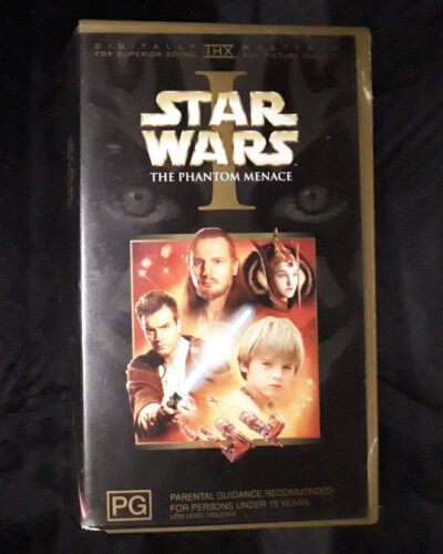 Star Wars I - The Phantom Menace - Video Cassette VHS