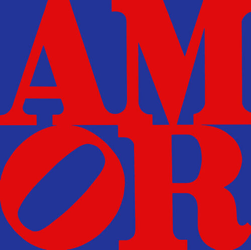 Amor  A2+ by Robert Indiana High Quality Canvas Print