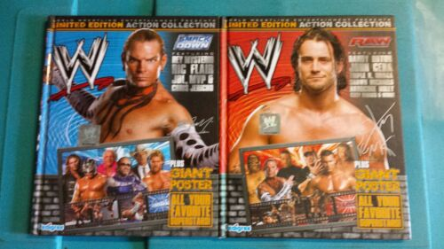 Raw Smackdown Limited Edition Action Collection Pro Wrestling Books
